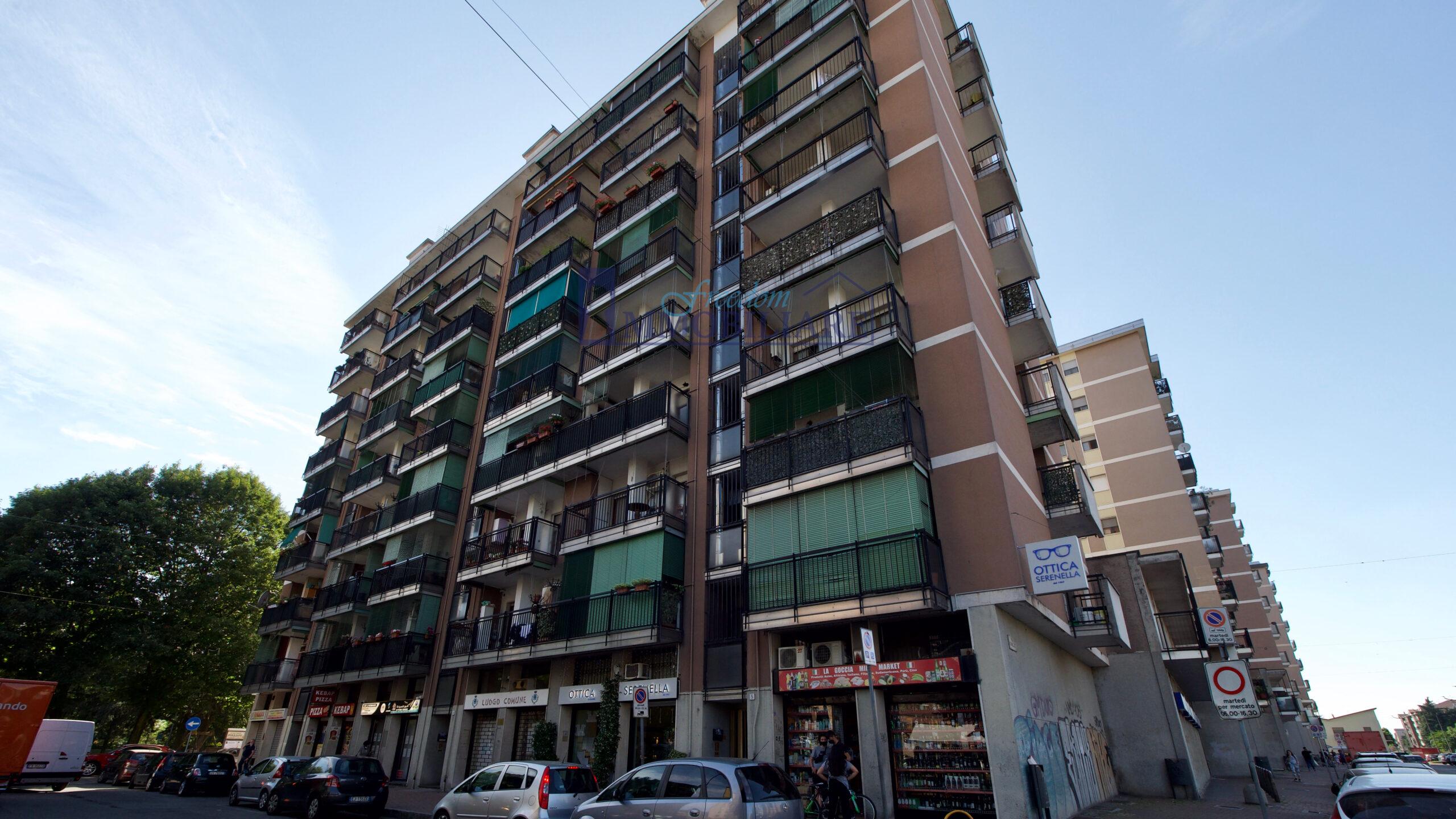 Trilocale piazza Vittorio Alfieri 7, San Giuliano Milanese