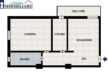 Bilocale via Don Giovanni Bosco 14, San Giuliano Milanese